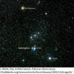 A Szalvington az M42 szomszédságában van az Orion csillagképben